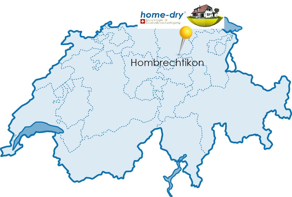 homedry Schweiz Karte